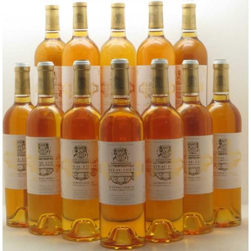 Château COUTET 1er cru classé Barsac 2007 (blanc liquoreux)