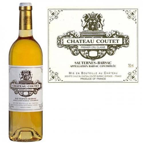 12 x Château COUTET 1er cru classé Barsac 2007 (blanc liquoreux)