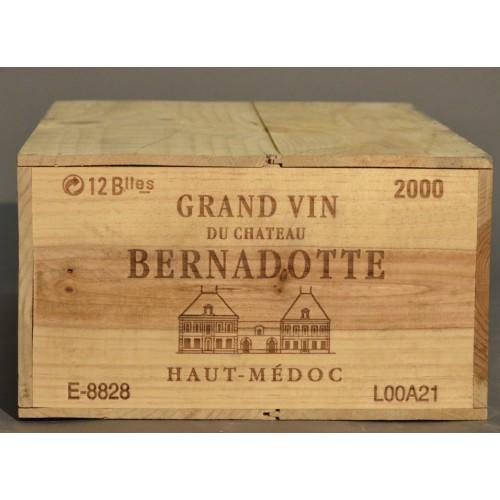 Château Bernadotte 2000 Haut-Medoc