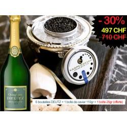 Offre Spéciale Fêtes Caviar + Champagne